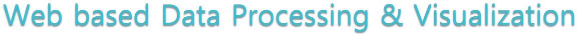 Web Based Data Processing and Visualization
